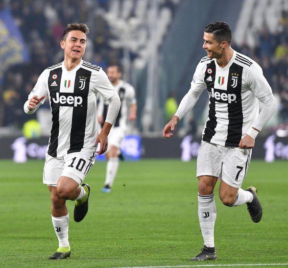 La Juventus golea y ya piensa en Madrid.