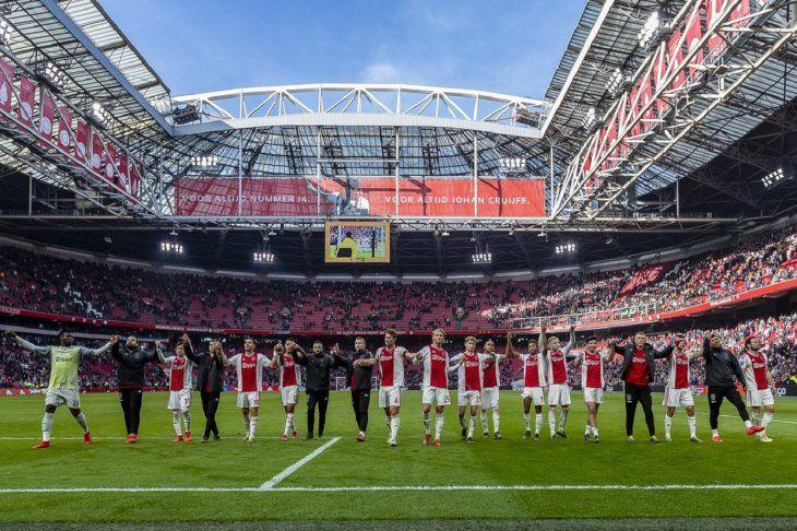 El Ajax logró un importante triunfo este domingo.