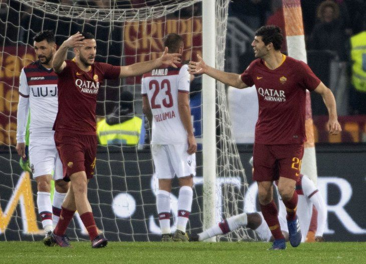 La Roma logró un importante triunfo este lunes.