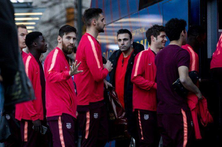 Messi dirigirá la ofensiva blaugrana en Lyon.
