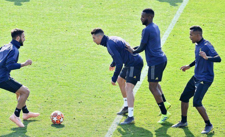Juventus se alista para el choque con Atlético.