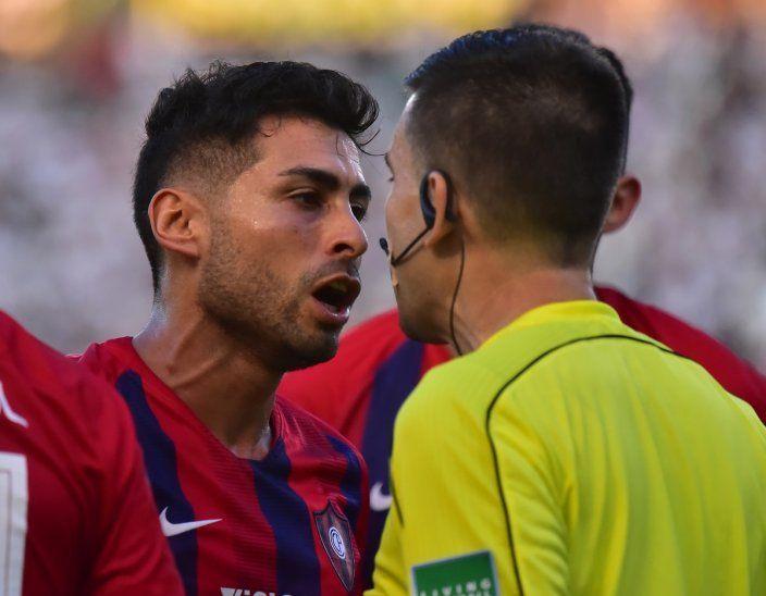 Federico Carrizo fue suspendido por un partido.