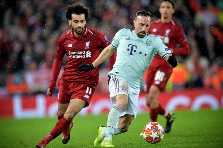 Paridad sin goles entre Liverpool y Bayern.