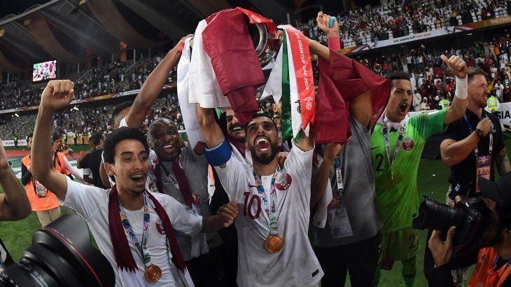 Qatar logró el título de la Copa Asia 2019.