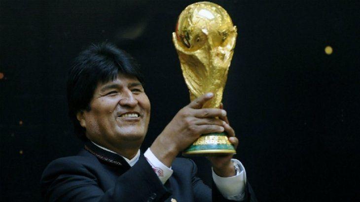 Bolivia presenta su postulación para el mundial de fútbol de 2030