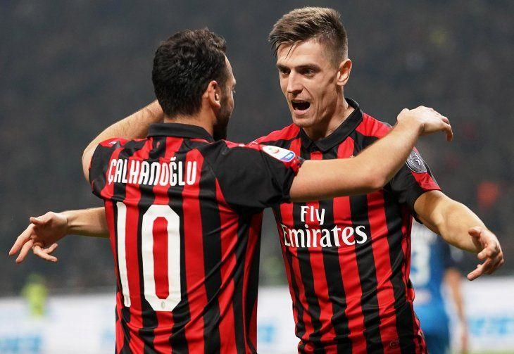 El Milan goleó este viernes.