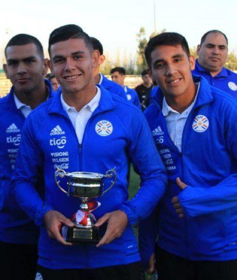 Jugadores de la Selección Paraguaya Sub 17.