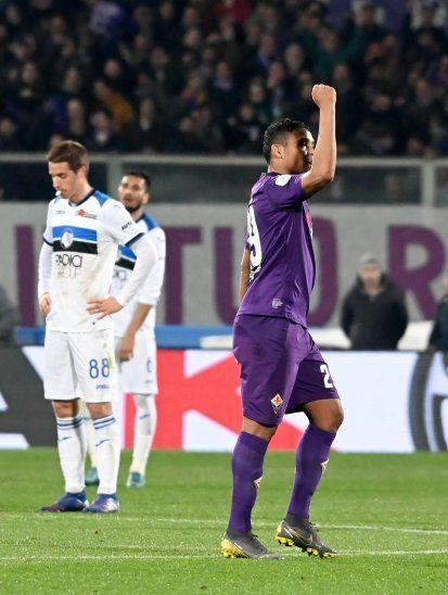 Atalanta y Fiorentina igualaron a tres en un partido con muchos goles.