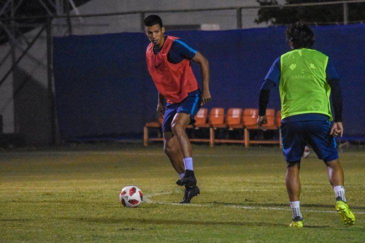 LISTO. Julio Dos Santos ya está listo para el regreso a las canchas.