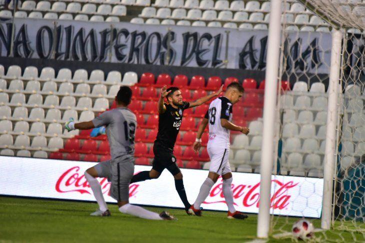 Ortega fue autor de uno de los goles ante General.