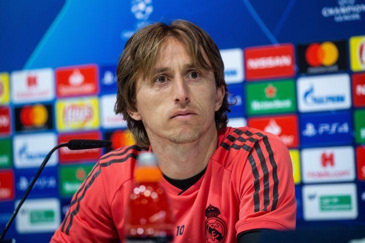 Luka opinó del presente del Madrid.