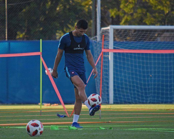Marcos Cáceres estará ausente en el debut.