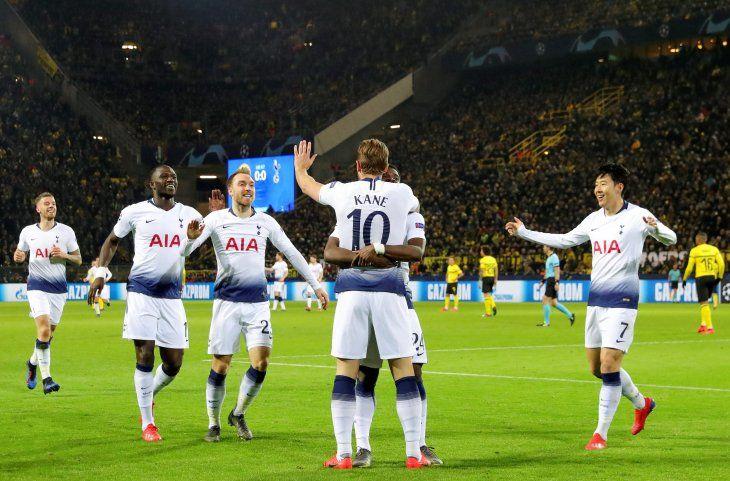 Tottenham se clasificó a los cuartos de final de la Champions League.