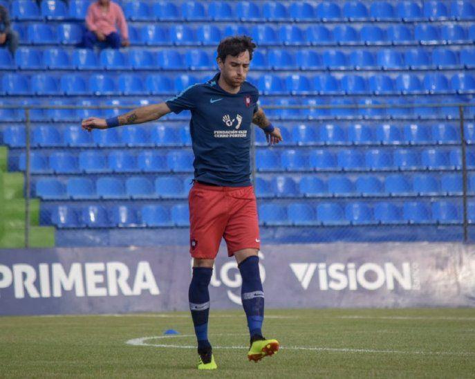 Fernando Amorebieta debutará en la Libertadores con la camiseta de Cerro Porteño.