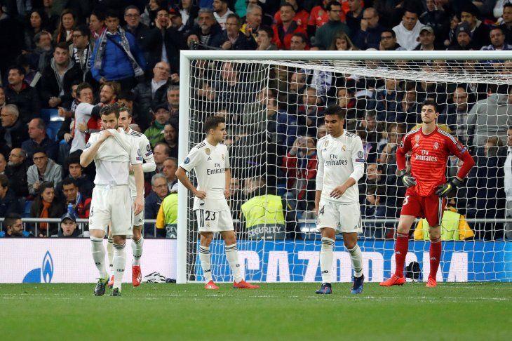 Real Madrid decepciona y queda eliminado en octavos de final