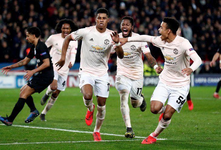 El United clasificó a los cuartos de final.
