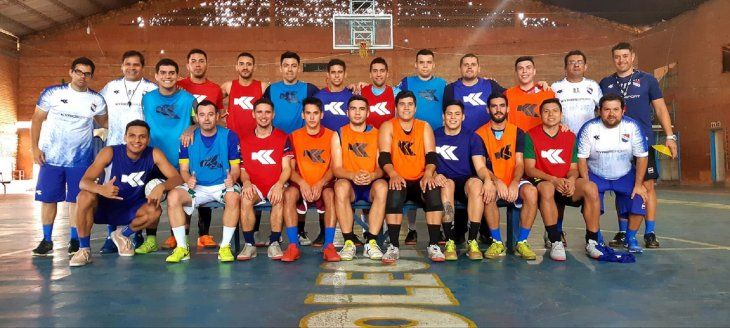Selección Paraguaya de Fútbol de Salón.