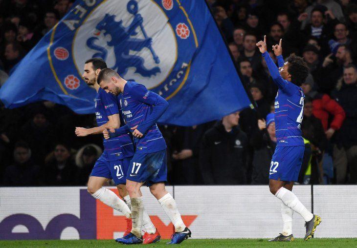El Chelsea dio un gran paso hacia la clasificación.