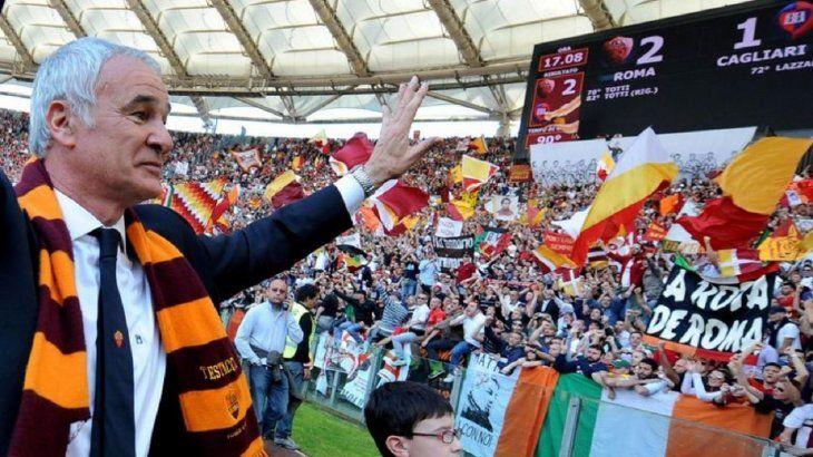 Claudio Ranieri regresa a la Roma.