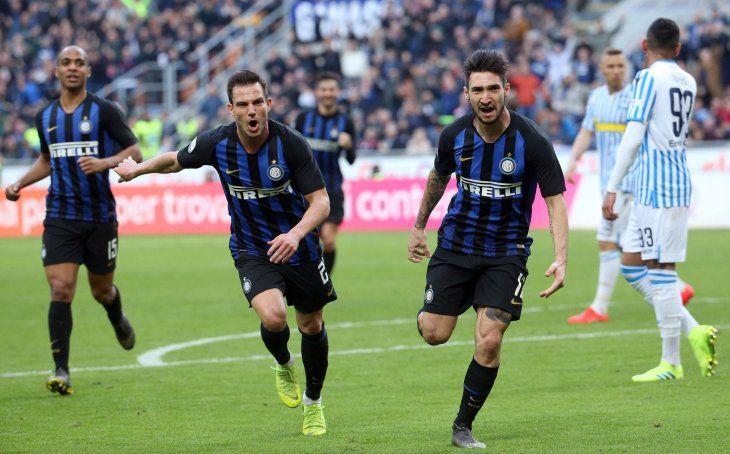 El Inter consiguió una victoria este domingo.