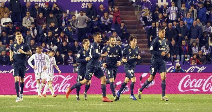 El Real Madrid triunfó de visitante este domingo.