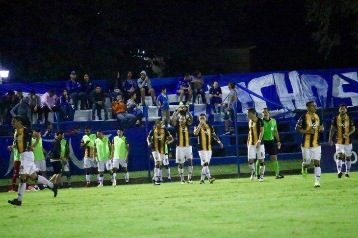 Guaraní derrotó a Sol en Villa Elisa.