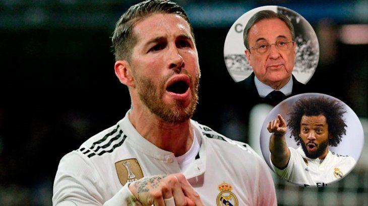 Sergio Ramos habla de la presunta pelea con Florentino y Marcelo.