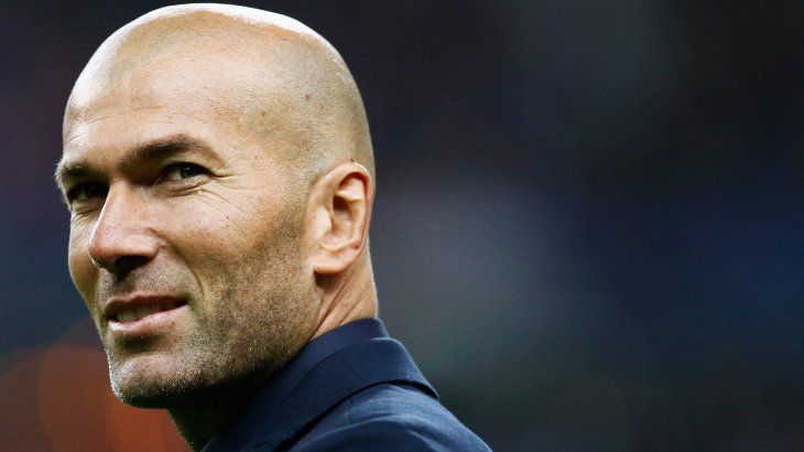 Zidane volvió al Real Madrid.