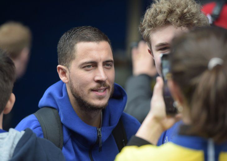 Martínez confía en el potencial de Hazard.