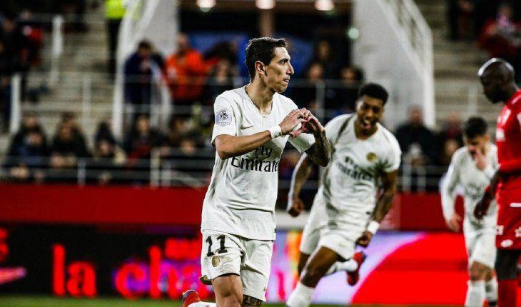El PSG alivia su dolor europeo con un 0-4 al Dijon