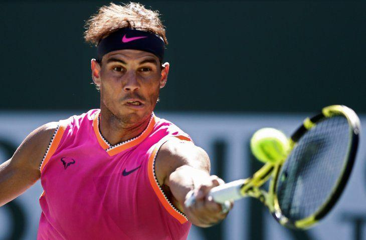 Rafael Nadal avanzó a cuartos de final.