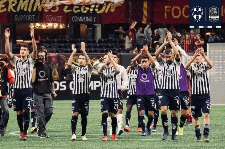 De trámite, Rayados logró su pase a Semifinales de Concachampions en Atlanta