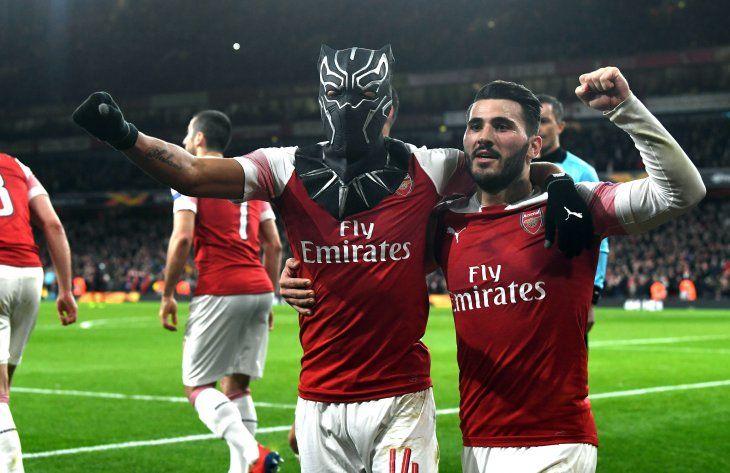 El Arsenal clasificó a la siguiente fase de la Europa League.
