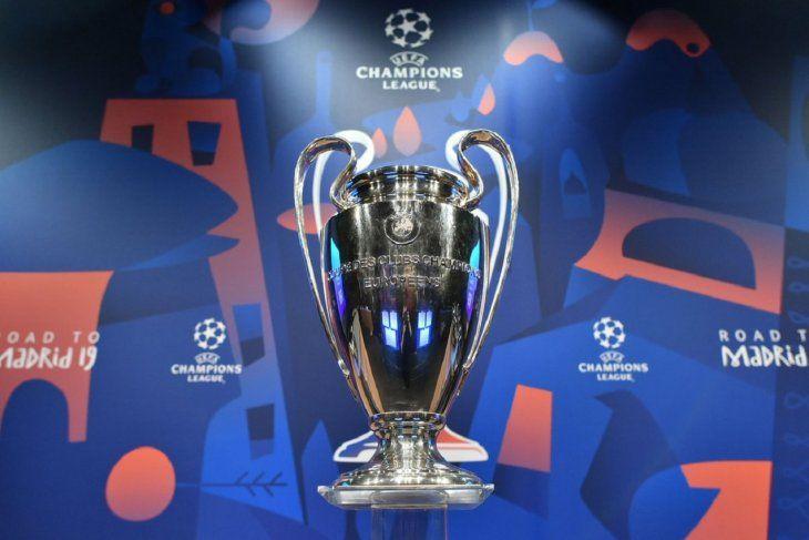 Los enfrentamientos de los cuartos de final de la Liga de Campeones.