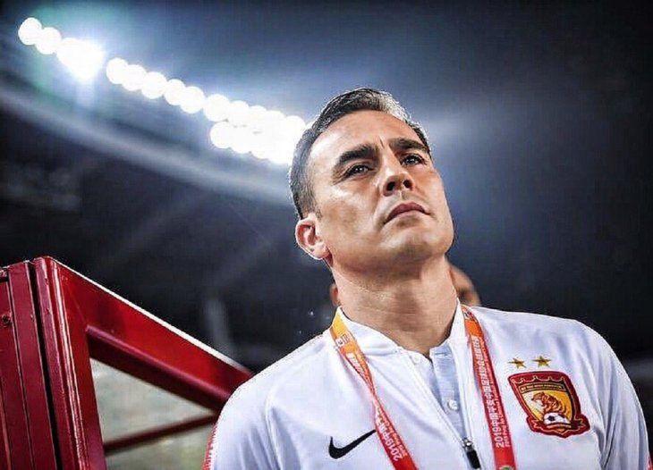 Cannavaro tendrá su primera experiencia como entrenador.