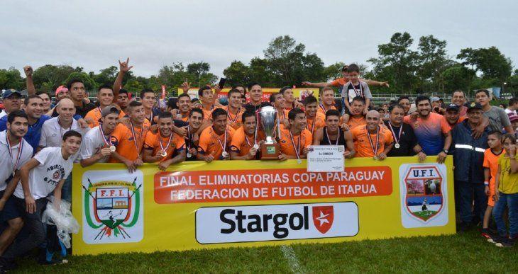 La Naranja Mecánica es Bicampeón en Itapúa.