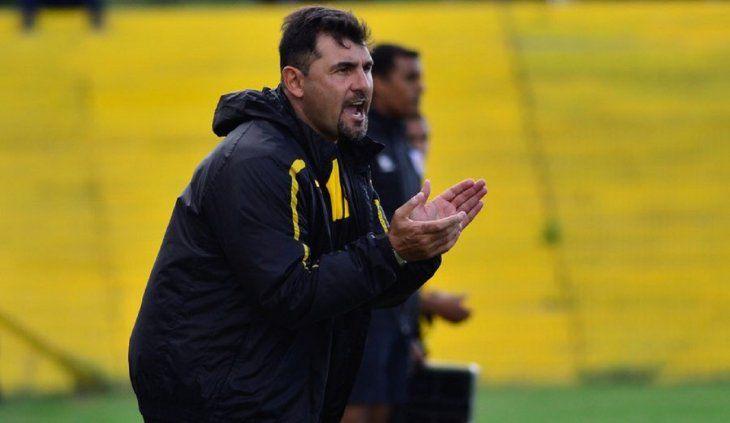 El charrúa Martín García dirigirá al Deportivo Santaní.