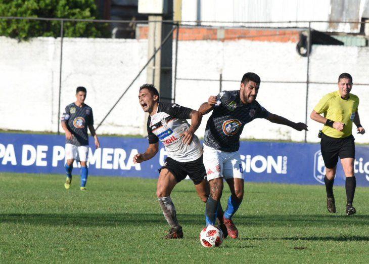 Hubo empate entre General Díaz y San Lorenzo.