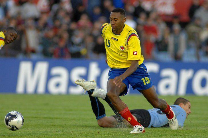 Jhon Viáfara durante su paso por la Selección Colombiana.