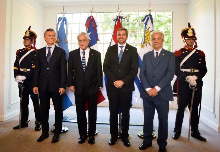Los presidentes de Argentina