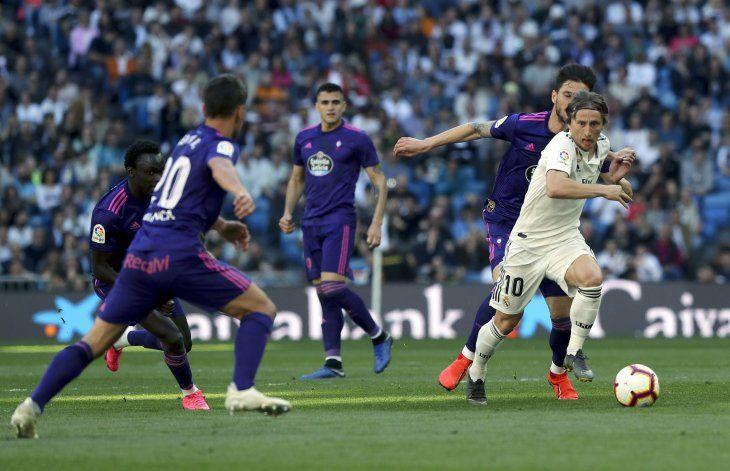 Modric premiado por la prensa deportiva.