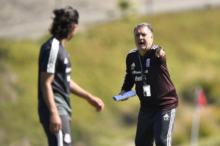 Martino debuta con la Tricolor.