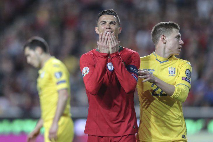 La Portugal de Cristiano no pudo este viernes.