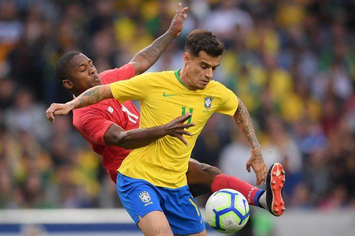 Brasil se estrella contra Panamá y no pasa del empate.