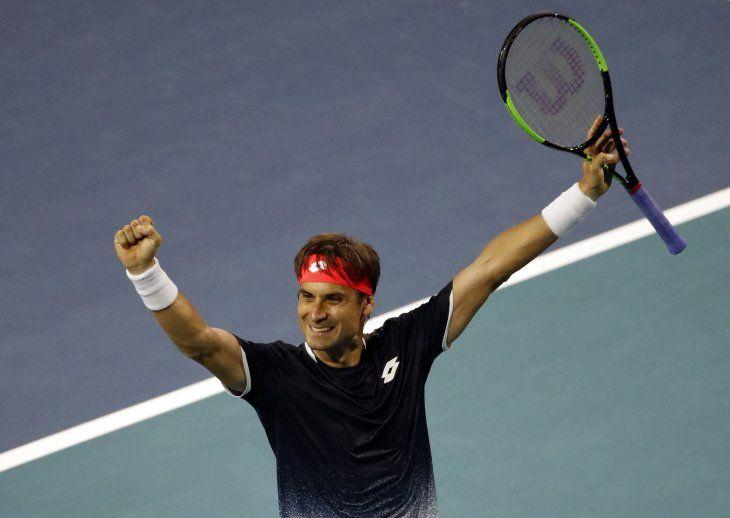 El español Ferrer logró un gran triunfo.