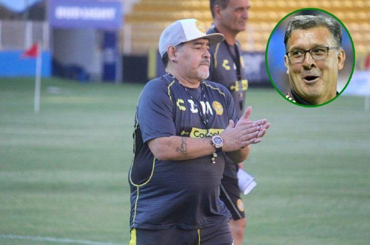 Maradona pronostica que el Tata Martino le dará muchos triunfos a México.