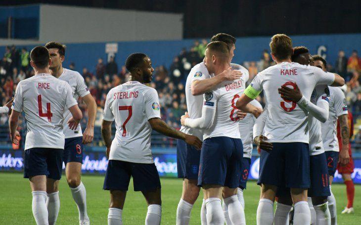 Inglaterra volvió a golear.