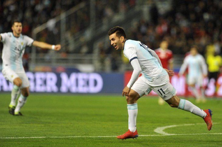 Ángel Correa le dio la victoria a Argentina.
