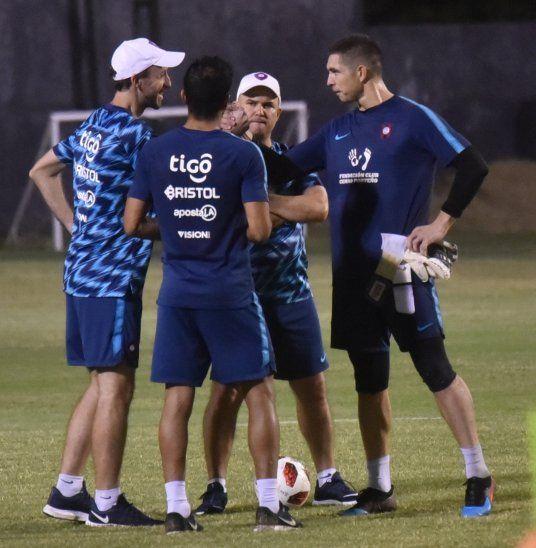 Fernando Jubero ya podrá contar con Juan Pablo Carrizo y Salustiano Candia.