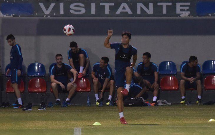 Nelson Haedo Valdez está a disposición de Fernando Jubero tras superar su lesión.